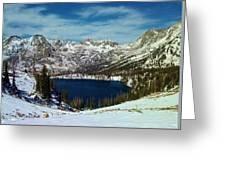 Mica Lake Greeting Card