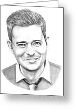 Michael Buble' Greeting Card