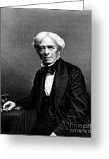 Michael Faraday, English Physicist Greeting Card
