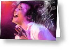 Michael Jackson 11 Greeting Card