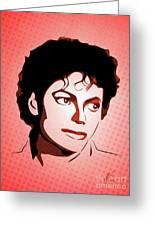 Michael Jackson - Thriller - Pop Art Greeting Card