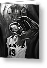 Michael Jordan 5 Greeting Card