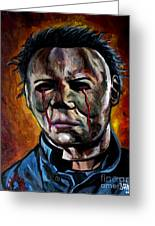 Michael Myers 2 Greeting Card