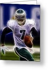 Michael Vick - Philadelphia Eagles Quarterback Greeting Card
