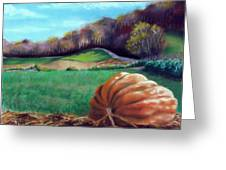 Michael's Great Pumpkin Greeting Card