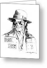 Michael's Jacket Greeting Card
