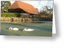 Michelham Priory Barn Greeting Card