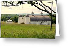 Michigan Barn 1 Greeting Card
