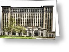 Michigan Central Station Detroit Greeting Card