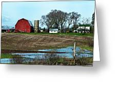 Michigan Farm Greeting Card
