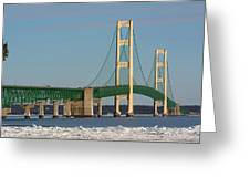 Michigan Mighty Mac Greeting Card