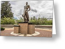 Michigan State - The Spartan Statue Greeting Card