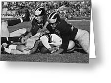 Michigan Wolverines Vintage 1952 Greeting Card