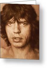 Mick Greeting Card