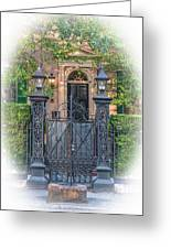 Mickell Jenkins Home Grand Entrance Greeting Card