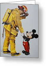 Mickey And The Bravest Greeting Card
