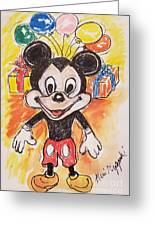 Mickey Mouse 90th Birthday Celebration Greeting Card