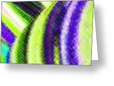 Micro Linear 12 Greeting Card