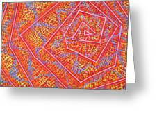 Microcosm Vii Greeting Card by Rollin Kocsis