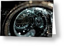 Microscopic IIi - Opale Greeting Card by Sandra Hoefer
