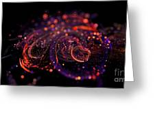 Microscopic Iv - Glass Jewels Greeting Card by Sandra Hoefer
