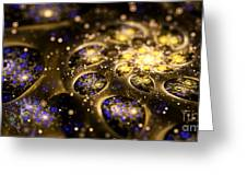 Microskopic Vii - Galaxy Greeting Card