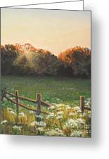 Mid-summer Sunset Greeting Card