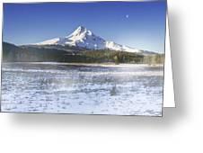 Mid-winter Morning Greeting Card