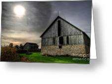 Midday Barn Greeting Card