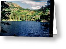 Middle Fork Lake Greeting Card