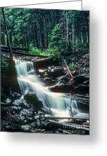 Middle Fork Red River Falls Greeting Card