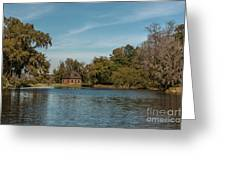Middleton By The Pond Greeting Card