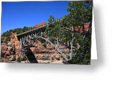 Midgley Bridge Greeting Card