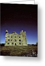 Midnight Blue At Leamanch Castle The Gateway To The Burren Greeting Card