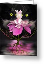 Midnight Dance Greeting Card