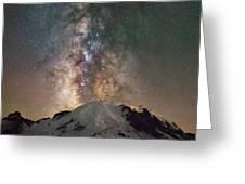 Midnight Hike  Greeting Card
