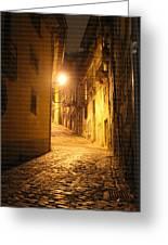 Midnight In Porto Greeting Card