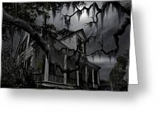 Midnight In The House Greeting Card by James Christopher Hill