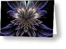 Midnight Magnolia Greeting Card