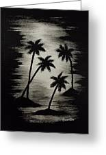 Midnight Sands Greeting Card