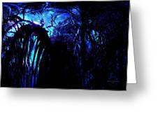 Midnight Serenity Greeting Card