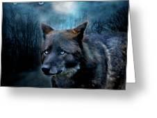Midnight Spirit Greeting Card