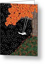 Midnight Swing  Greeting Card