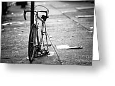 Midtown Bicycle Greeting Card