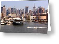 Midtown Manhattan Panorama Greeting Card