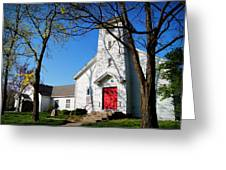 Midway Locust Grove United Methodist Church Greeting Card