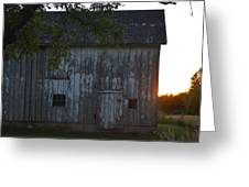 Midwest Barn Greeting Card