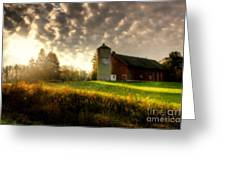 Midwest Morning Greeting Card