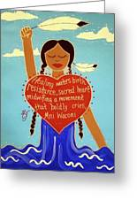 Midwives Of Standing Rock Greeting Card