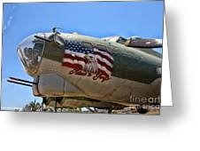 Mighty B-17 Fortress Greeting Card
